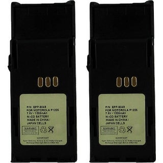 Battery for Motorola HNN9049 (2-Pack) Replacement Battery