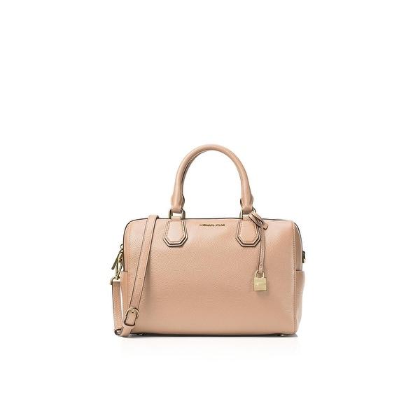 5b38d3abfe65d1 MICHAEL Michael Kors Womens Mercer Satchel Handbag Leather Duffle - LARGE