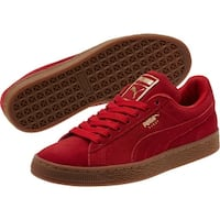 PUMA Womens suede classic Leather Low Top Lace Up Fashion Sneakers
