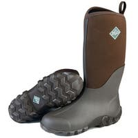 Muck Boot's Edgewater II Brown Boot w/ Extended Ruber Coverage -Mens Size 10