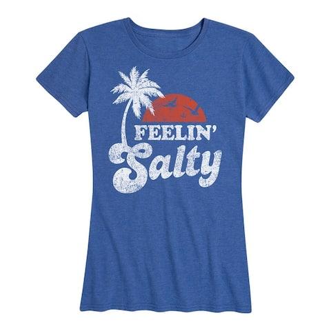 Feelin Salty - Women's Short Sleeve Graphic T-Shirt
