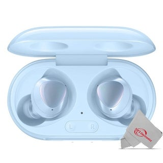 Link to Samsung Galaxy Buds+ Plus SMR175 In-Ear True Wireless Earbuds Improved Call Quality with Charging Case Cloud Blue Similar Items in Headphones