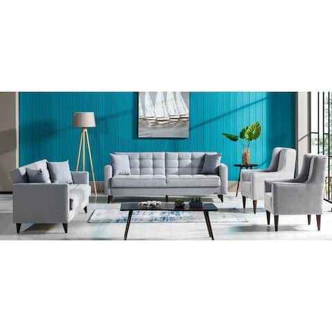 SavaHome Orlando Living Room 3 Seat Convertible Sleeper Sofa