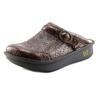 Alegria Seville Round Toe Synthetic Clogs