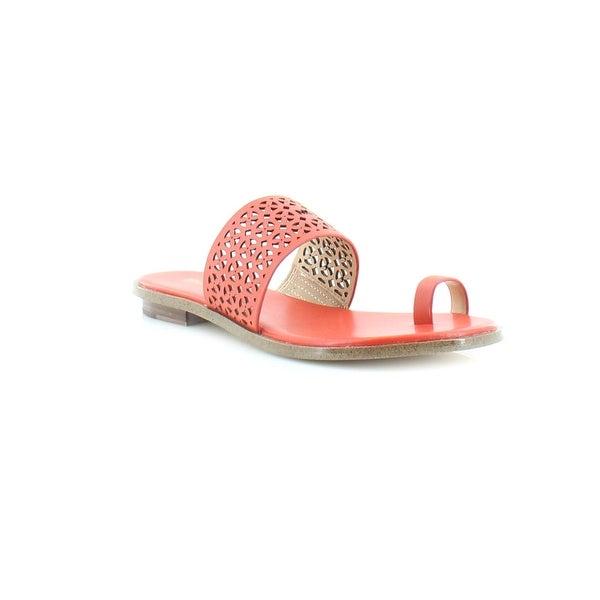 Michael Kors Sonya Toe Thong Women's Sandals & Flip Flops Sienna