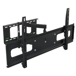 "Mount-It! MI-349 Articulating TV Wall Mount Bracket Dual Arm Swivel Design for LCD/LED/4K TVs 32-70"" TV, VESA - Black (MI-349)"