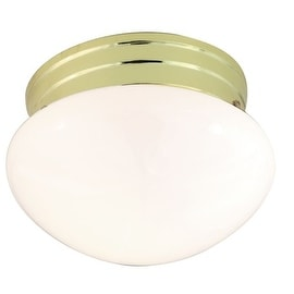 Nuvo Lighting 77/059 1 Light Flush Mount Indoor Ceiling Fixture - 7.5 Inches Wide