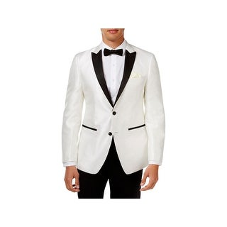 Tallia Mens Two-Button Blazer Double Vent Slim Fit - 38r