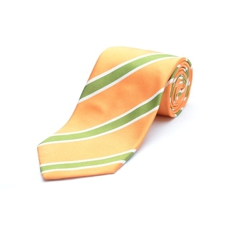 Versace Men's Silk Neck Tie N2040-0519 Orange