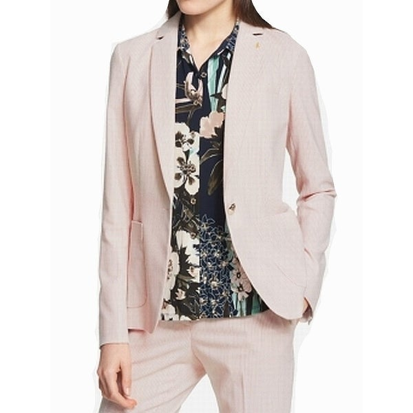 fee4c7803af679 Shop Tommy Hilfiger Womens Pinstriped One Button Blazer - On Sale - Free  Shipping On Orders Over $45 - Overstock - 27021997