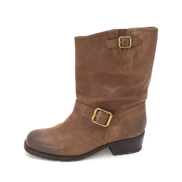 Lucky Brand Womens Aaid Closed Toe Mid-Calf Fashion Boots