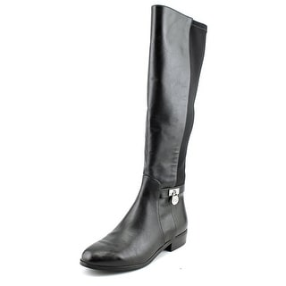 Michael Michael Kors Hamilton Tall Boot Round Toe Leather Knee High Boot