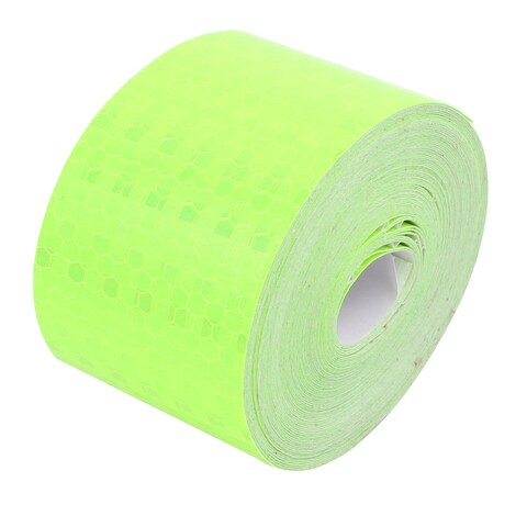 Green Honeycomb Reflective Conspicuity Tape Warning Tape 5cm Width x 10m Length
