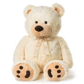 JOON Huge Teddy Bear, 38 Inches https://ak1.ostkcdn.com/images/products/is/images/direct/be1fd66682ddf04ed7a98d6b7e316da60d672d02/JOON-Huge-Teddy-Bear%2C-38-Inches.jpg?impolicy=medium