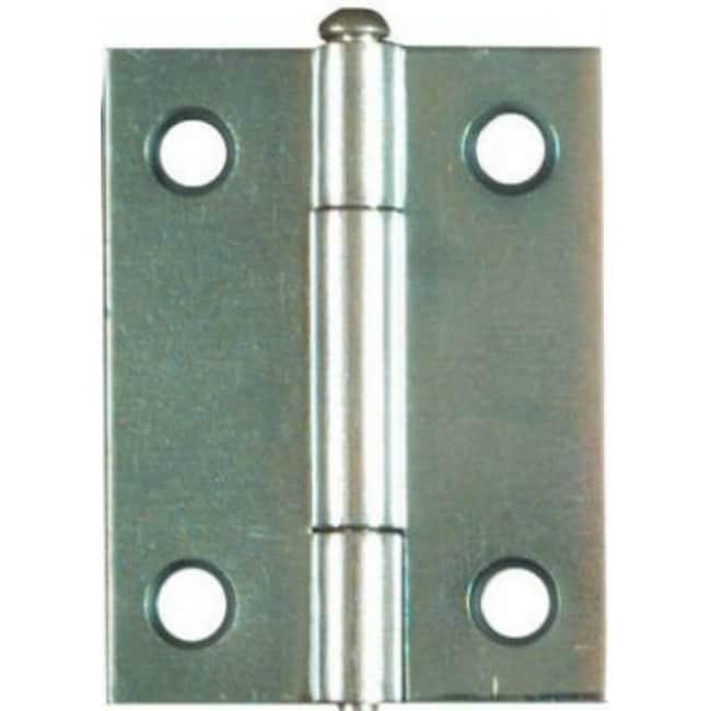 National Hardware N141-838 Light Narrow Hinge with Screws, Zinc, 2-Pack