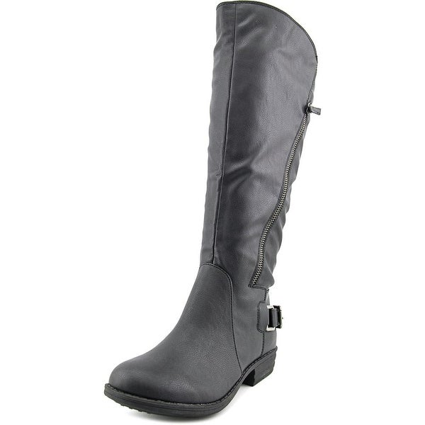 American Rag Asher Wide Calf Women Black Boots