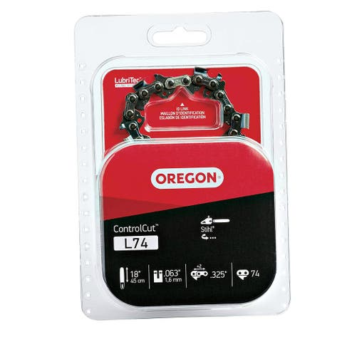 "Oregon L74 Replacement Saw Chain, 18"" Bar"