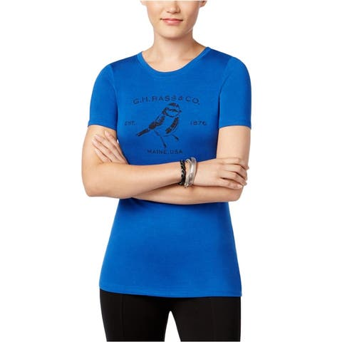 G.H. Bass & Co. Womens Logo Graphic T-Shirt