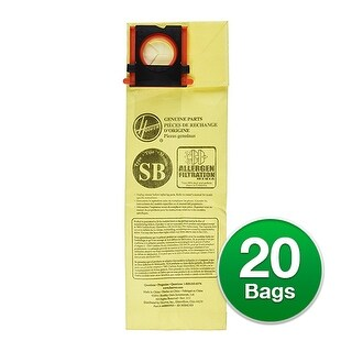 EnviroCare Replacement Vacuum Bag for Hoover CH50100 Vacuums - 2 Pack