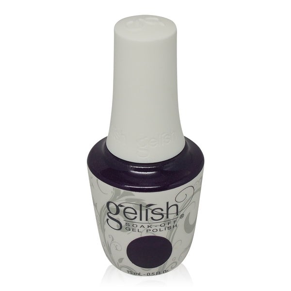 Gelish - Soak-Off Gel Polish Deep Purple With Subtle Frost-Diva