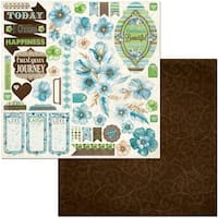 """Penelope Double-Sided Cardstock 12""""X12""""-"""