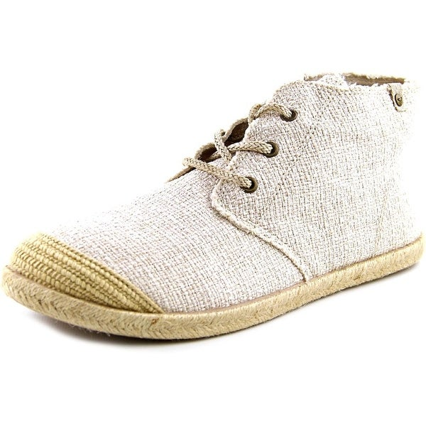 Roxy Flamenco Mid Women Cream Sneakers Shoes