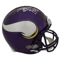 Adrian Peterson Autographed Minnesota Vikings Proline Helmet JSA