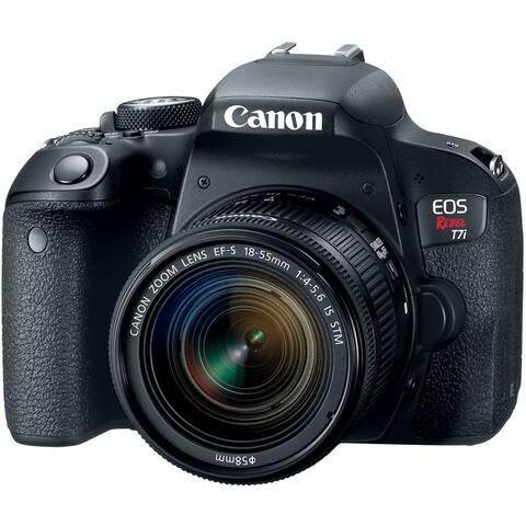Canon EOS Rebel T7i DSLR Camera w/ EF-S 18-55mm IS STM Lens