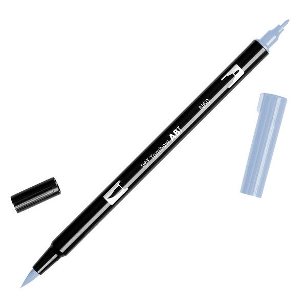 Tombow Dual Brush Marker Open Stock-N60 Cool Gray 6