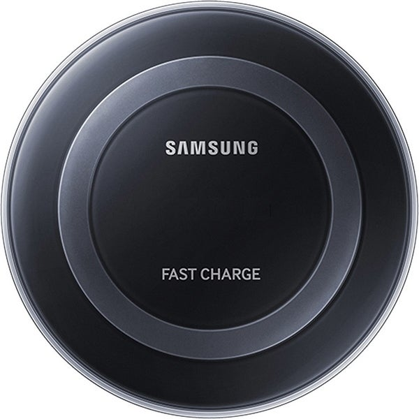 Samsung Fast Charge Qi Wireless Charging Pad for Qi Enabled Devices - Black - US Version