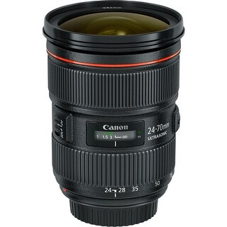 Canon EF 24-70mm f/2.8L II USM Lens (International Model)