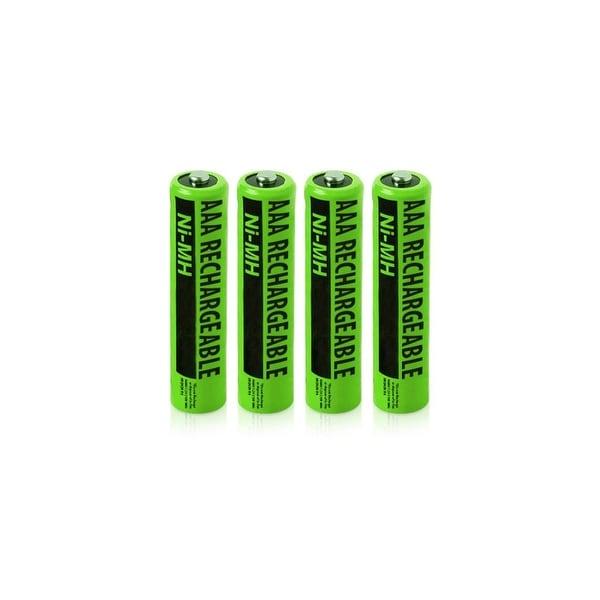Replacement Panasonic HHR-55AAABU NiMH Cordless Phone Battery - 630mAh / 1.2v (4 Pack)