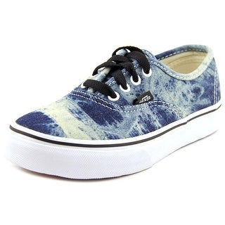 Vans Authentic Youth Round Toe Canvas Blue Skate Shoe