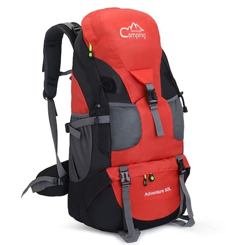 Fashion multifunction 50L Hiking Backpack Travel Camping Backpack