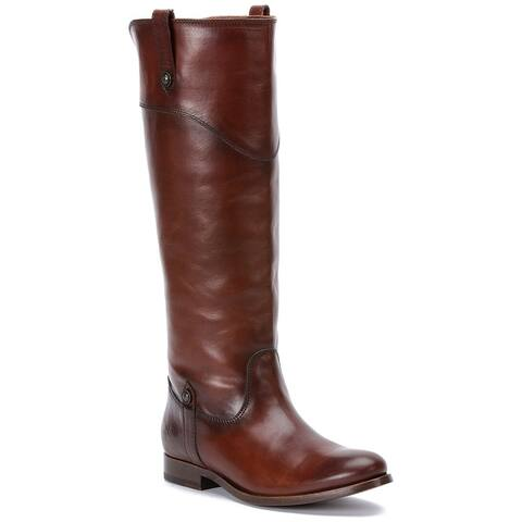 Frye Melissa Leather Extended Calf Boot