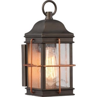 """Nuvo Lighting 60/5831 Howell Single Light 11-1/8"""" Tall Outdoor Wall Sconce with"""