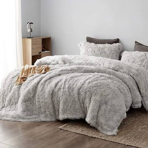 Socially Distant - Coma Inducer® Oversized Comforter - Cloud Gray