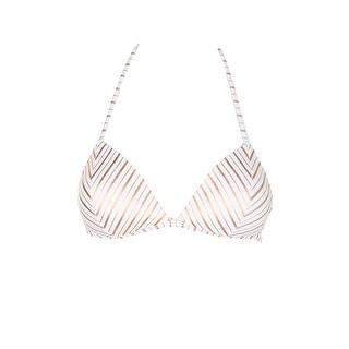 4623fef19c Shop Hula Honey Juniors Rose Gold Metallic Oceanfront Striped Push-Up Bikini  Top S - Free Shipping On Orders Over  45 - Overstock.com - 26519451