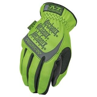 Mechanix Wear SFF-91-010 Safety FastFit Glove, Large, Hi-Viz Yellow