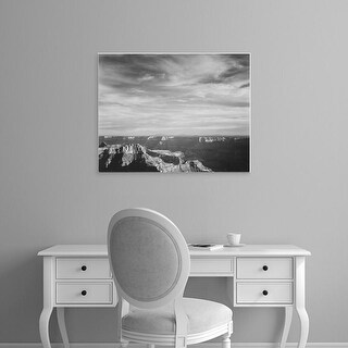 Easy Art Prints Ansel Adams's 'Grand Canyon National Park, North Rim 1941' Premium Canvas Art