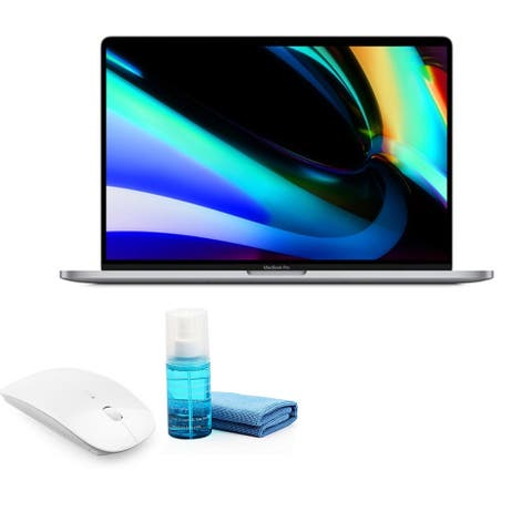 Apple 16 Inch MacBook Pro (Late 2019, Space Gray) with Mouse
