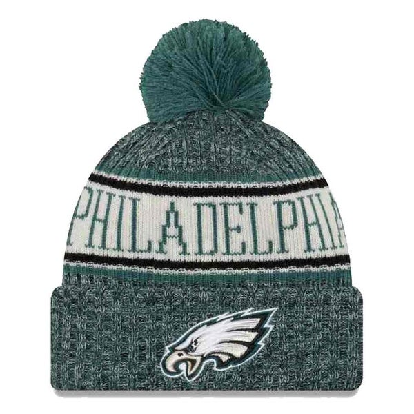 Shop New Era 2018 NFL Philadelphia Eagles Sport Stocking Knit Hat Winter  Beanie Pom - Free Shipping On Orders Over  45 - Overstock - 23042819 2e87383d8