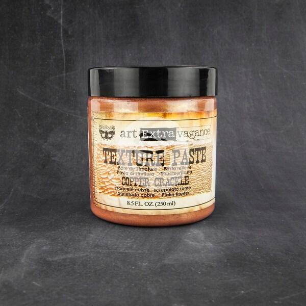 Finnabair Art Extravagance Texture Paste 8.5oz-Copper Crackle - GOLD