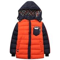 Richie House Boys' Padding Jacket with Hood