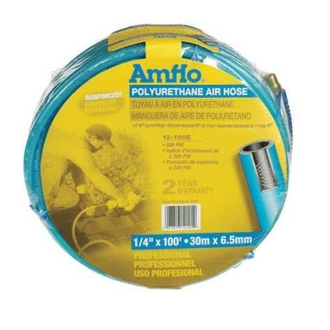 """Amflo 12-100 E Polyurethane Air Hose, 1/4"""" x 100'"""