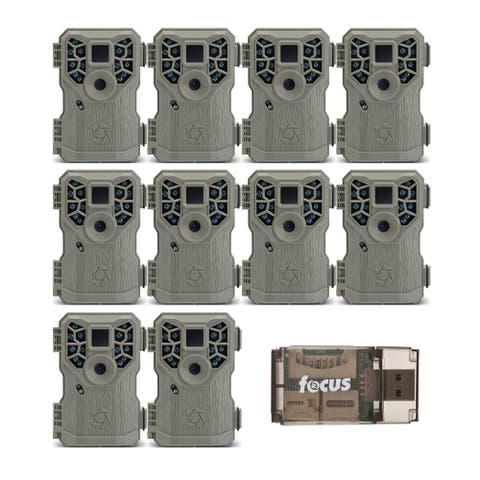 Stealth Cam PX14XP 10MP Scouting Trail Game Camera (10-Pk) with Reader
