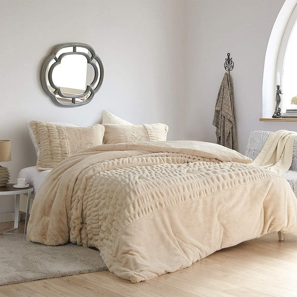 Sorry, Not Sorry - Coma Inducer® Oversized Comforter - Angora. Opens flyout.