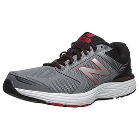 bd840a018476c Shop New Balance Men's 560v7 Cushioning Running Shoe, Silver/Black, 10 4E  US - Free Shipping Today - Overstock - 20975808