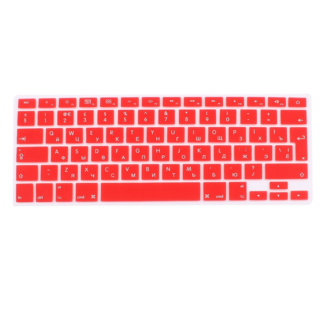 EU//US Silicone Keyboard Cover for MacBook Air 13 Russian Language Keyboard Cover Protector for MacBook Air 13 Keyboard Cover,US Blue