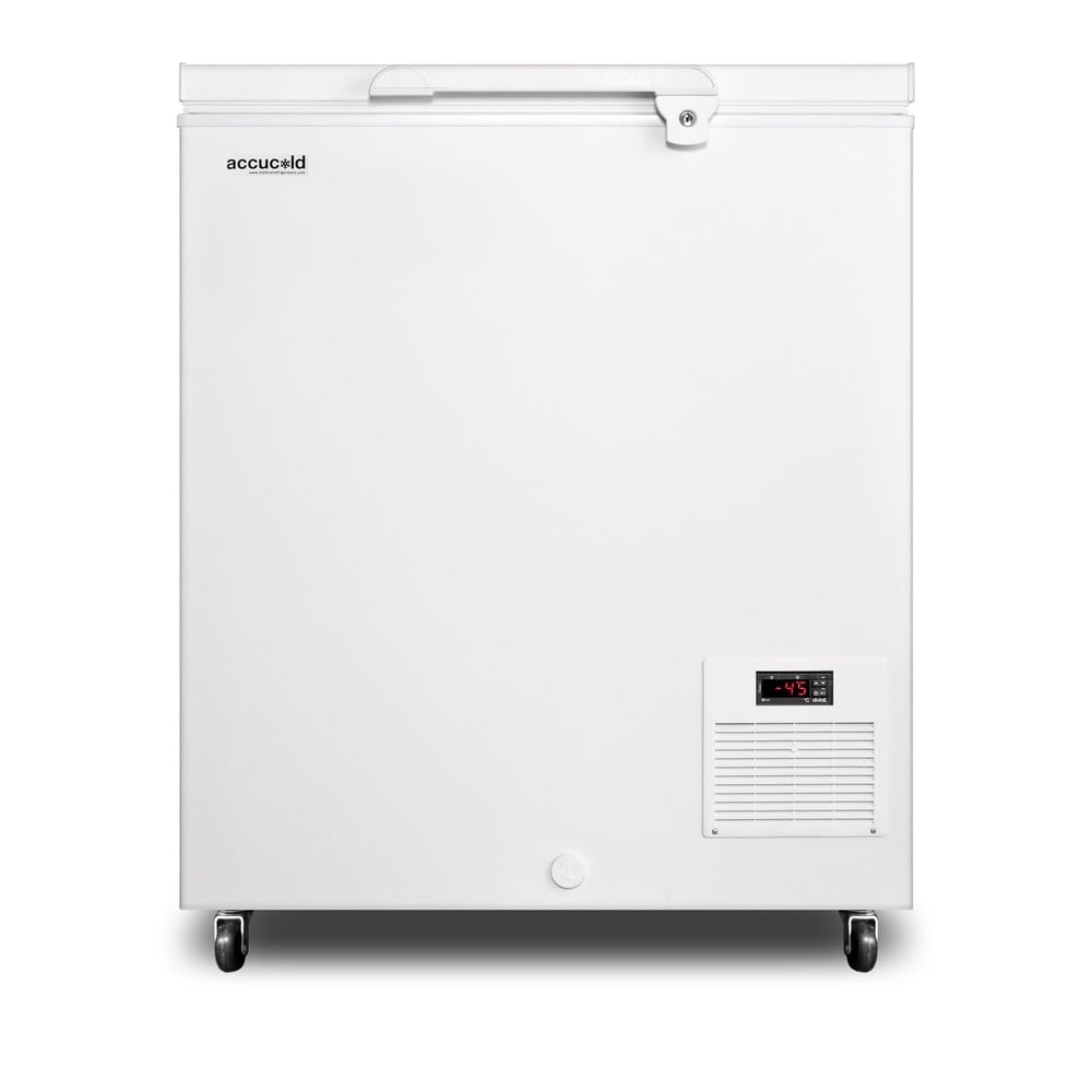 """Summit  EL11LT  Accucold 30"""" Wide 4.8 Cu. Ft. Capacity Chest Freezer - White (White)"""